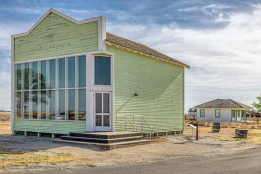 Hindsman General Store - Allensworth, California by Gene Parks