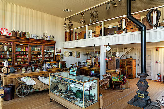 Hindsman General Store - Allensworth State Park by Gene Parks
