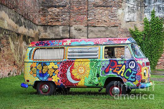 Hippie Dippie VW Micro Bus by Paul Quinn