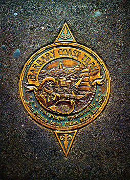 Historic Barbary Coast Trail Plaque by Bonnie Follett
