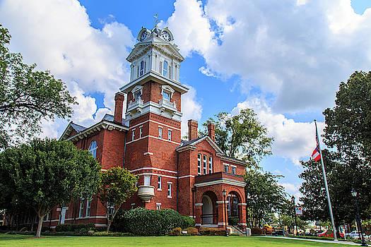 Historic Gwinnett County Courthouse by Doug Camara