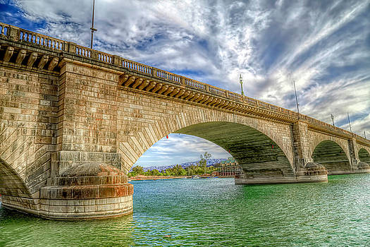 Historic London Bridge by Donna Kennedy
