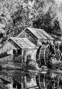 Historic Mabry Mill by Paul Croll