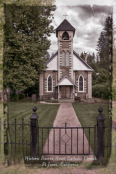 Historic Sacred Heart Catholic Church, Ft Jones, CA by Mick Anderson
