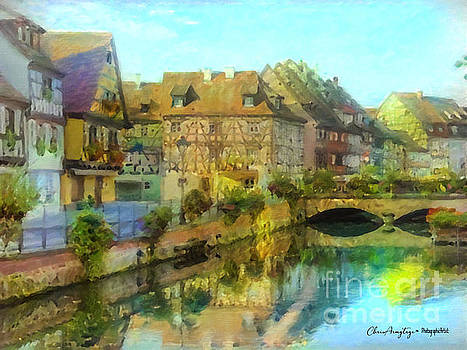 Historic Village on the Rhine by Chris Armytage