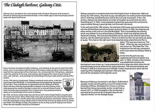 History of the Cladagh, Galway by Val Byrne