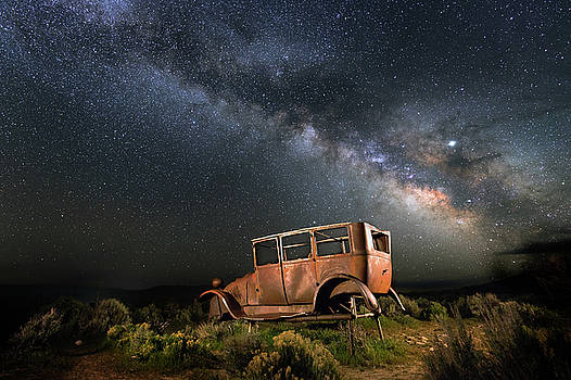 Hitchhiking to Milky way by Davorin Mance