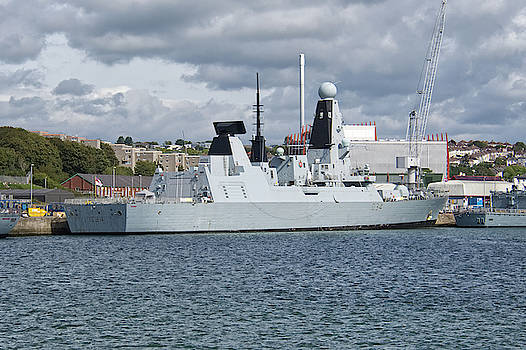 HMS Diamond by Chris Day