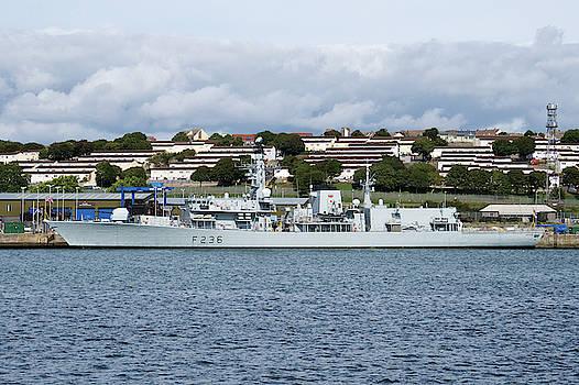 HMS Montrose by Chris Day