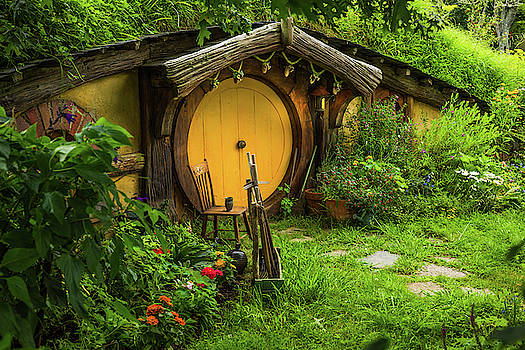 Racheal Christian - Hobbit House - Yellow Door