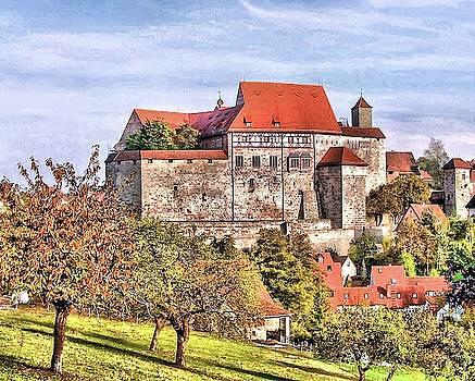 Hohenzollernburg, Cadolzburg/ Middle Franconia, Germany  by Karl-Heinz Luepke