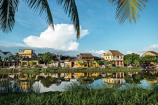 Hoi An Riverside by Ian Robert Knight