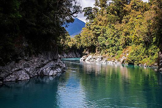 Hokitika Gorge New Zealand IV by Joan Carroll