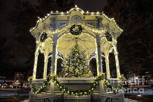 Holiday Lights - Gazebo by James Guilford