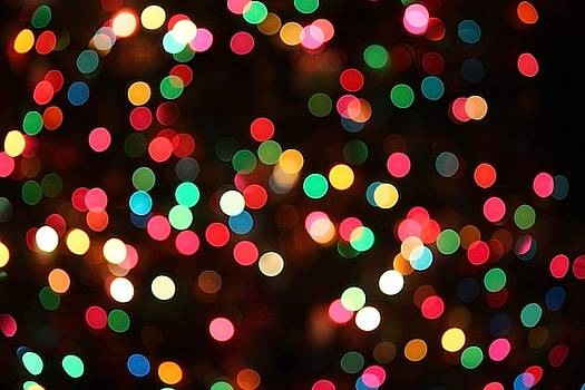 Holiday Twinkle lights by Chris Bavelles