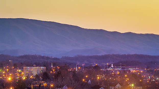 Holston Mountain over Tennessee High by Greg Booher
