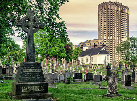 Holy Cross Cemetery and Our Lady of Sorrows Chapel by Ken Morris