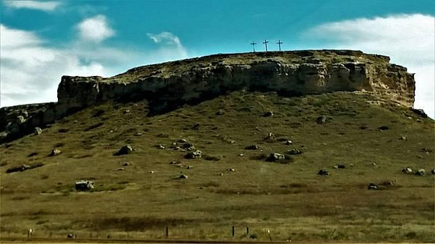 Holy Crosses on the Ridge by Peggy Leyva Conley