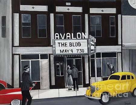 Hometown Theater by Danett Britt