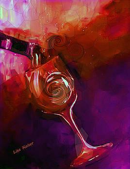 Honeycomb Gem Wine by Lisa Kaiser