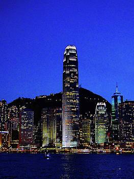 Hong Kong Evening Skyline by Blair Wainman