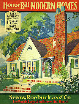 Honor Bilt Modern Homes Sears Roebuck and Co 1930 by Unknown