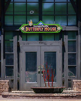 Honor Heights Butterfly House Vertical by Tamyra Ayles