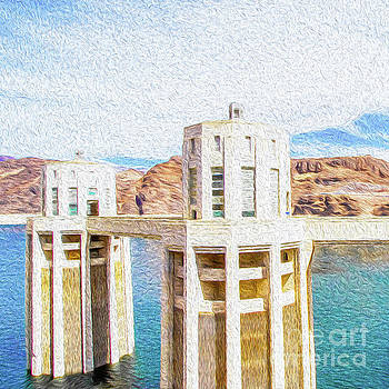 Hoover Dam Rendition I by Kenneth Montgomery