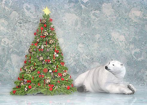 Hopeful Polar Bear by Betsy Knapp