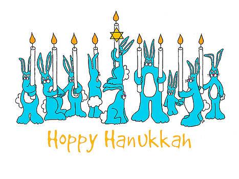 Hoppy Hanukkah by Sarah Rosedahl