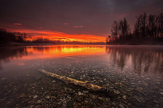 Horizon on fire by Davorin Mance