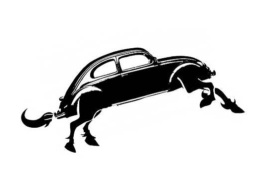 Horse Car by Tin Tran