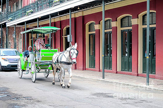 Horse Drawn Carriage, New Orleans 2 by Felix Lai