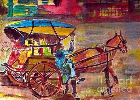 Horse Drawn Wagon Ride by Ali Muhammad