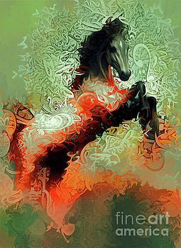 Horse Rear 3 by Imad Abu shtayyah