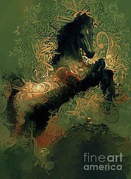 Horse Rear 4 by Imad Abu shtayyah