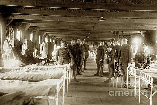 California Views Archives Mr Pat Hathaway Archives - Hospital Ward BASE HOSPITAL 34  Nantes, France  Circa 1918