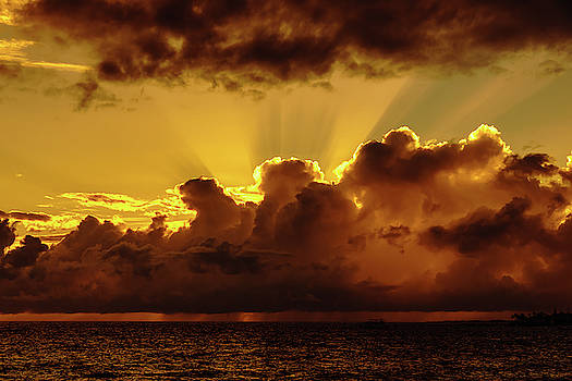 Hot Backlit Cloud by John Bauer
