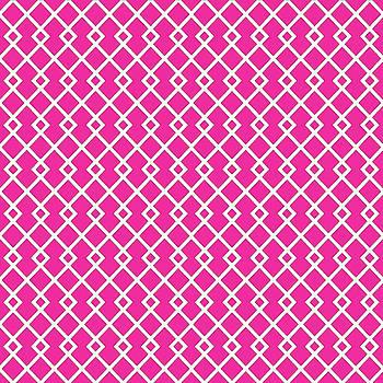 Hot Pink Diamond Pattern by Ross