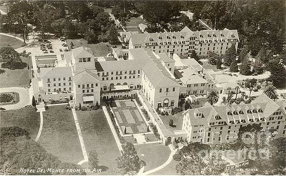 California Views Archives Mr Pat Hathaway Archives - Hotel Del Monte From The Air 1928