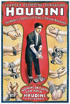 Houdini Vintage Poster, 1906 by Unknown