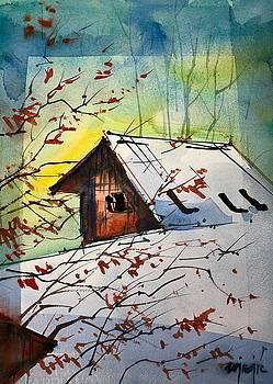 House behind ours by Ugljesa Janjic