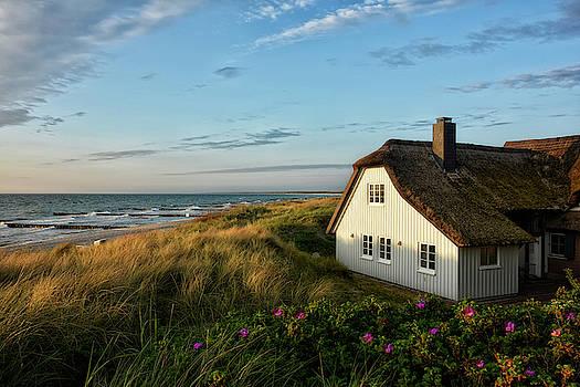 House in the dunes by Joachim G Pinkawa