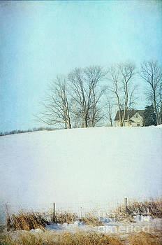House on a Snowy Hill by Jill Battaglia