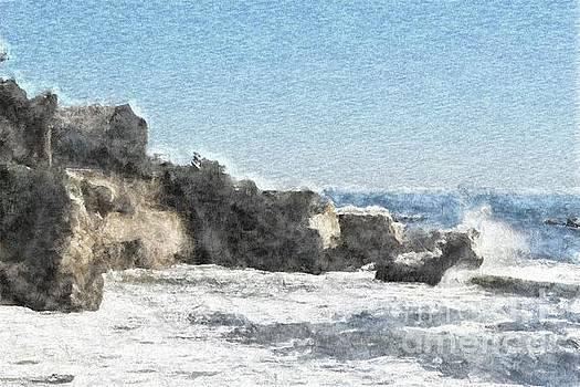 House on Rocks by Katherine Erickson