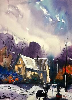 House on the Hill by Ugljesa Janjic