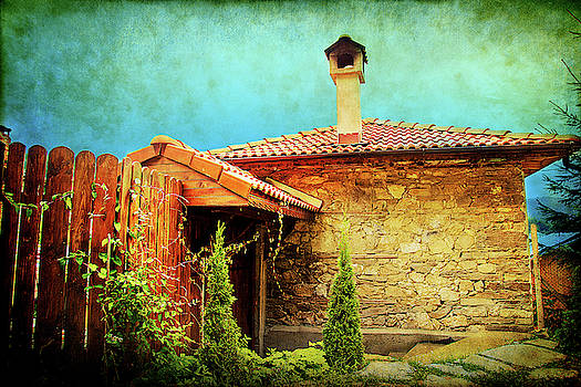 House Up in the Mountains  by Milena Ilieva