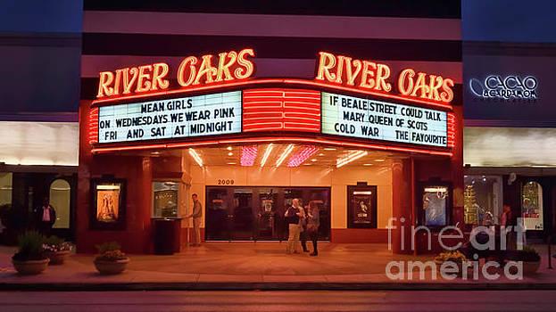 Houston River Oaks Theater by Norman Gabitzsch