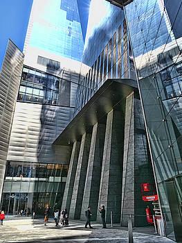 Hudson Yards - N Y C by Allen Beatty