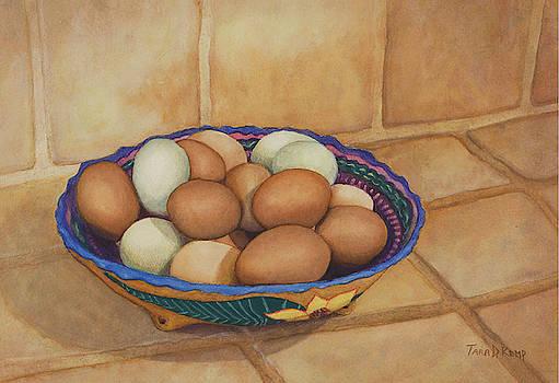Huevos Aracanas by Tara D Kemp